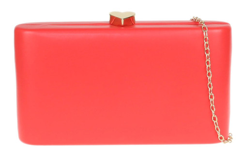 Plain Compact Clutch Bag