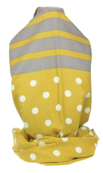 Womens Dots Large Scarf