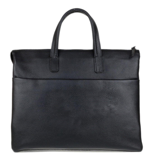 Womens Plain Leather Briefcase