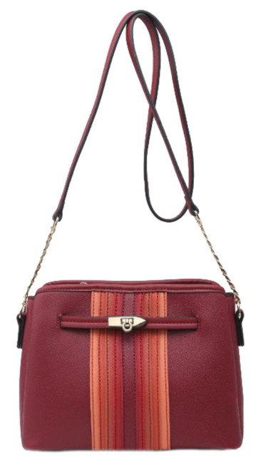 Womens Stripes Small Shoulder Bag