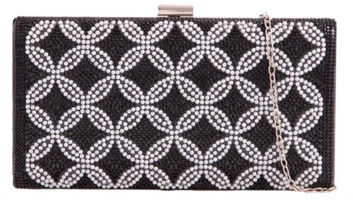 Womens Small Circle Clutch Bag