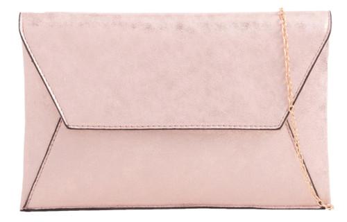 Womens Glitter Envelope Clutch Bag