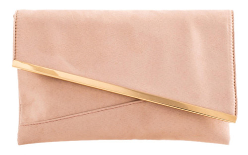 Womens Asymmetric Frame Clutch Bag