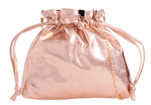 Womens Glitter Pouch Clutch Bag