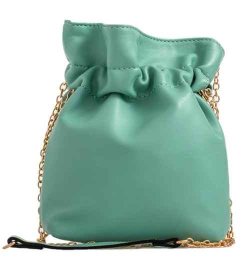 Womens Plain Pouch Clutch Bag