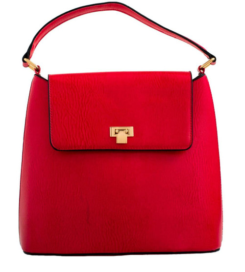 Womens Plain Retro Handbag