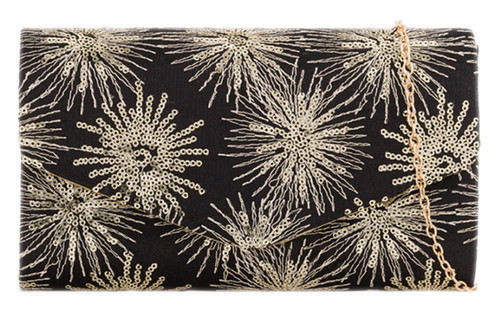 Womens Sequins Sparkly Clutch Bag
