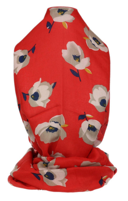 Ladies Floral Print Scarf
