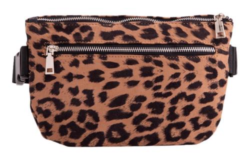 Womens Leopard Fanny Pack