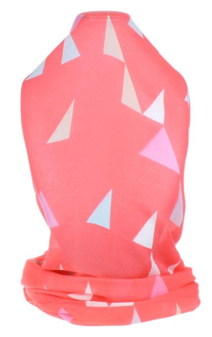 Tassel Triangle Print Scarf