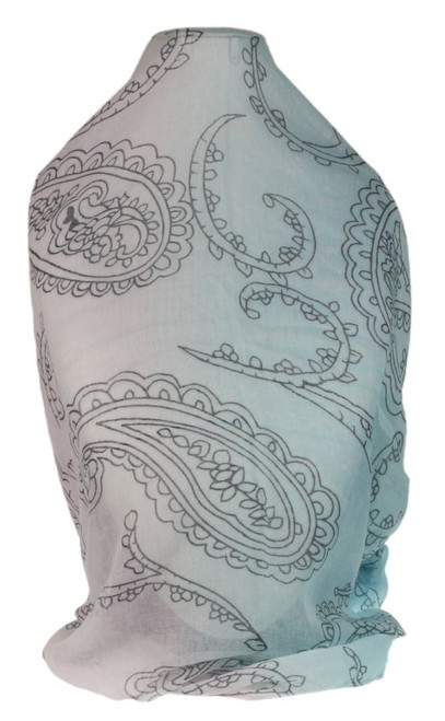 Large Paisley Print Scarf