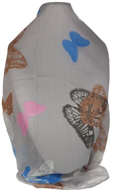 Butterflies Print Scarf