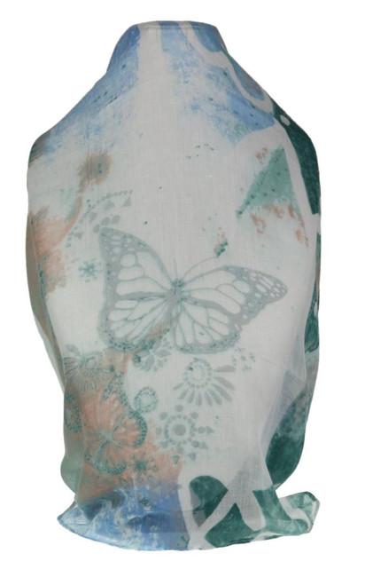 Geometric Butterflies Scarf