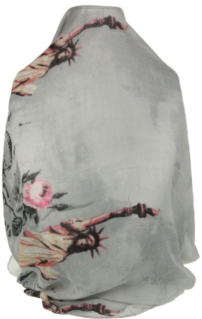 Statue of Liberty Print Scarf