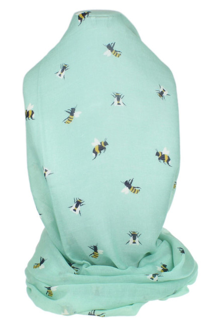 Busy Bees Printed Scarf