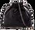 Womens Glitter Pouch Clutch Bag