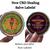 CBD Healing Salve specially formulated for eczema, psoriasis, bug bites, etc.