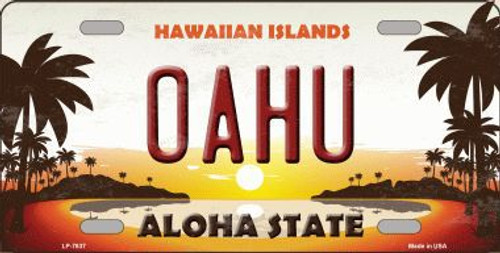 Hawaii Novelty State License Plate Tags | Smart Blonde