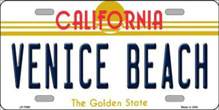 Venice Beach California Novelty Metal License Plate