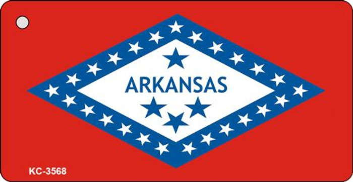 Arkansas State Flag Novelty Key Chain