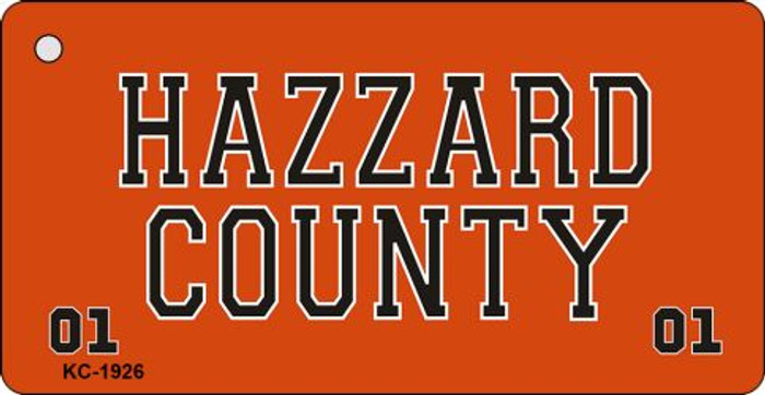 Hazard County Novelty Key Chain