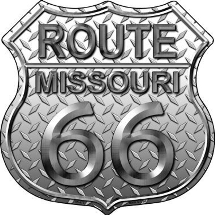 Route 66 Diamond Missouri Metal Novelty Highway Shield