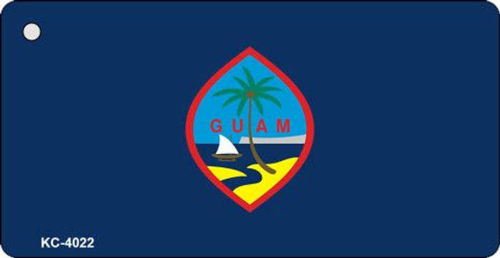 Guam Flag Novelty Key Chain