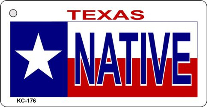 Native Texas Novelty Key Chain