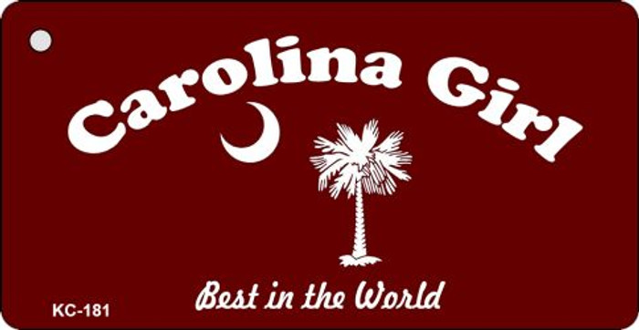 Carolina Girl Novelty Key Chain