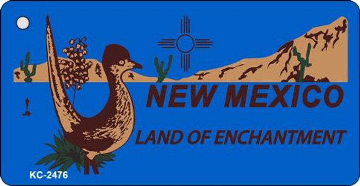 New Mexico Blue Novelty Key Chain
