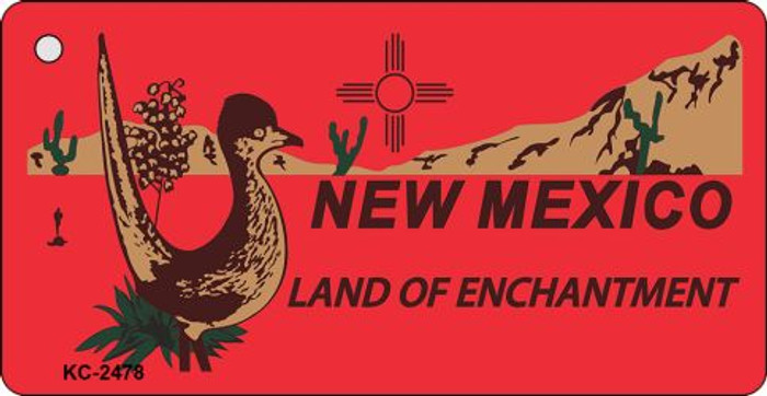 New Mexico Red Novelty Key Chain