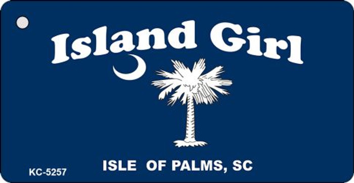 Island Girl Novelty Key Chain