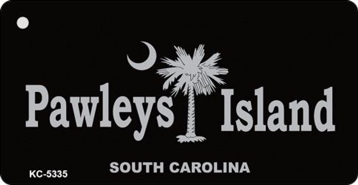 Pawleys Island Black Novelty Key Chain