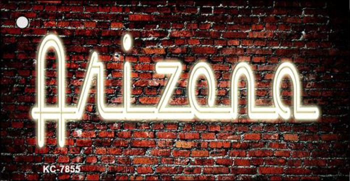 Arizona Neon Novelty Key Chain