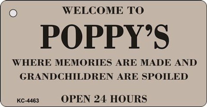 Welcome To Poppys Novelty Key Chain