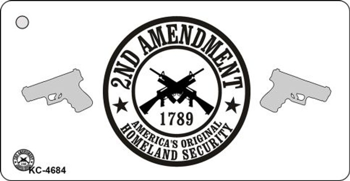 2nd Amendment Novelty Key Chain