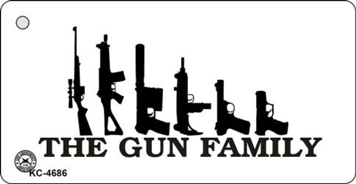 Gun Family Novelty Key Chain