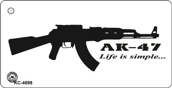 AK-47 Novelty Key Chain
