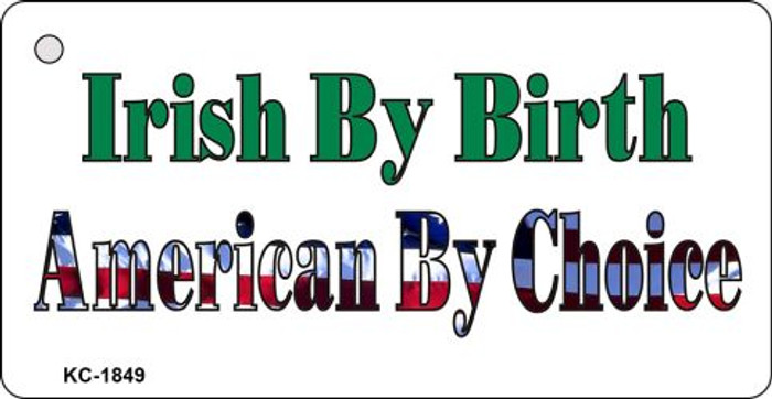 American By Choice Novelty Key Chain