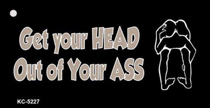 Get Your Head Novelty Key Chain