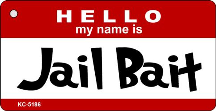 Jail Bait Novelty Key Chain