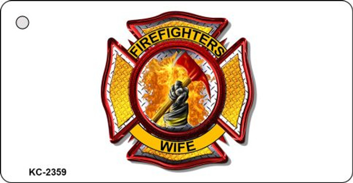Firemens Wife Novelty Key Chain