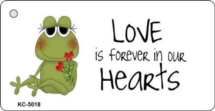 Love Is Forever Frog Novelty Key Chain