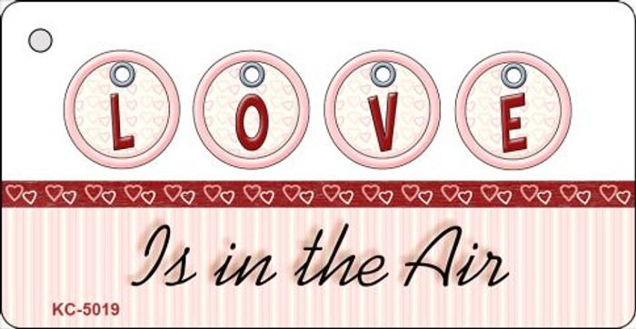 Love Is In The Air Novelty Key Chain