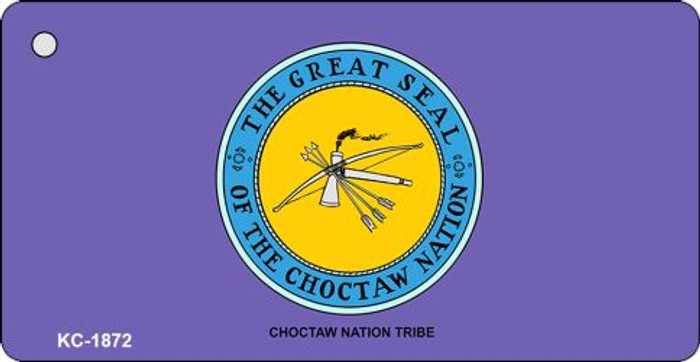 Choctaw Nation Tribe Novelty Key Chain