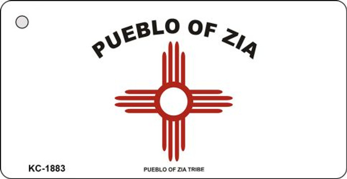 Pueblo Of Zia Novelty Key Chain