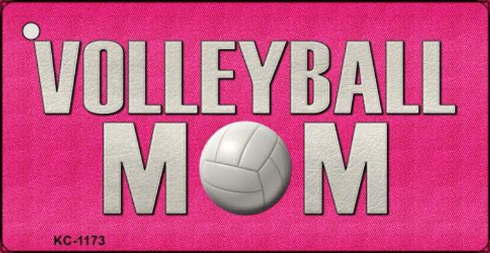 Volleyball Mom Novelty Key Chain
