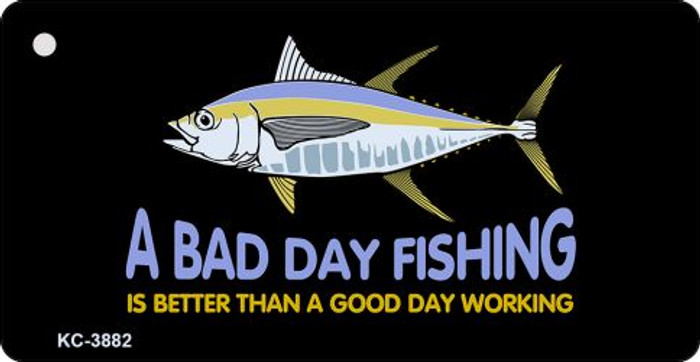 Bad Day Fishing Novelty Key Chain