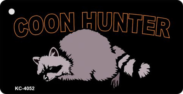 Coon Hunter Novelty Key Chain