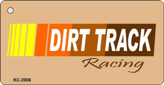 Dirt Track Novelty Key Chain